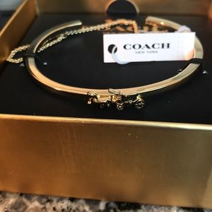 Coach logo horse and carriage bracelet New in box